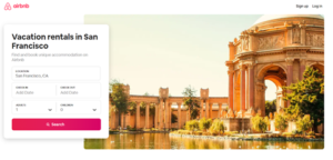 Airbnb personalization based on visitor behavior